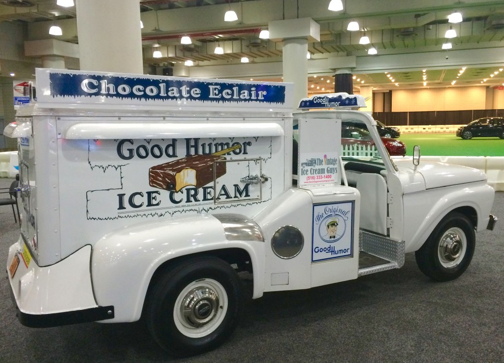 2016, ny, new york, auto show, ford, ice cream truck