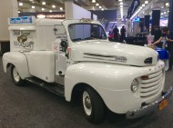 2016, ny, new york, auto show, 1948 ford, pickup, ice cream truck