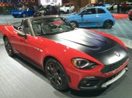 2017, fiat, 124, convertible, new york, ny, auto show