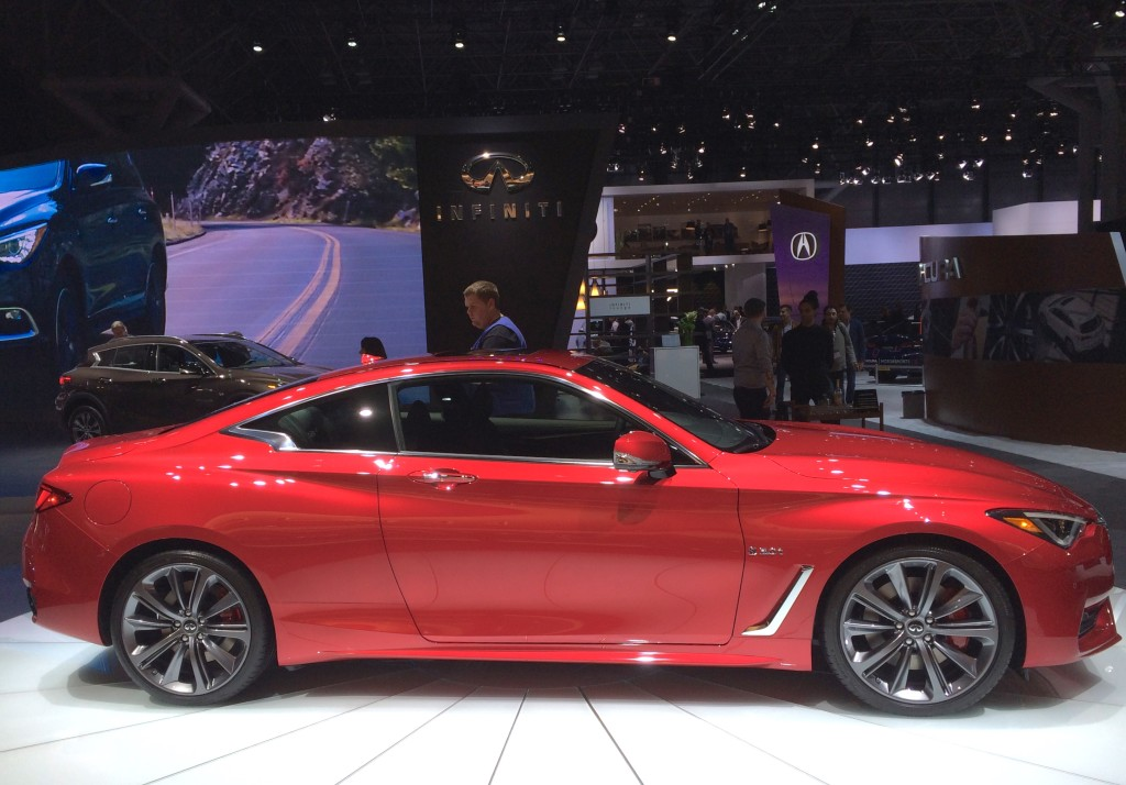 2016, ny, new york, auto show, infiniti, coupe, q60