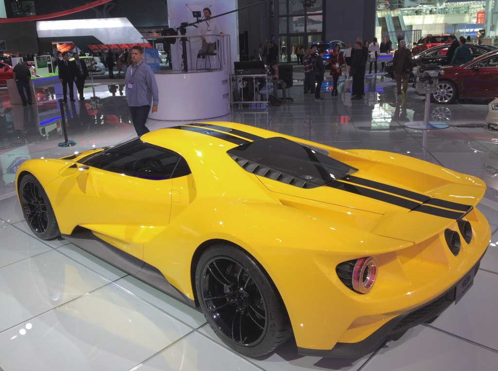 2016, NY, new york, auto show, 2017, ford gt