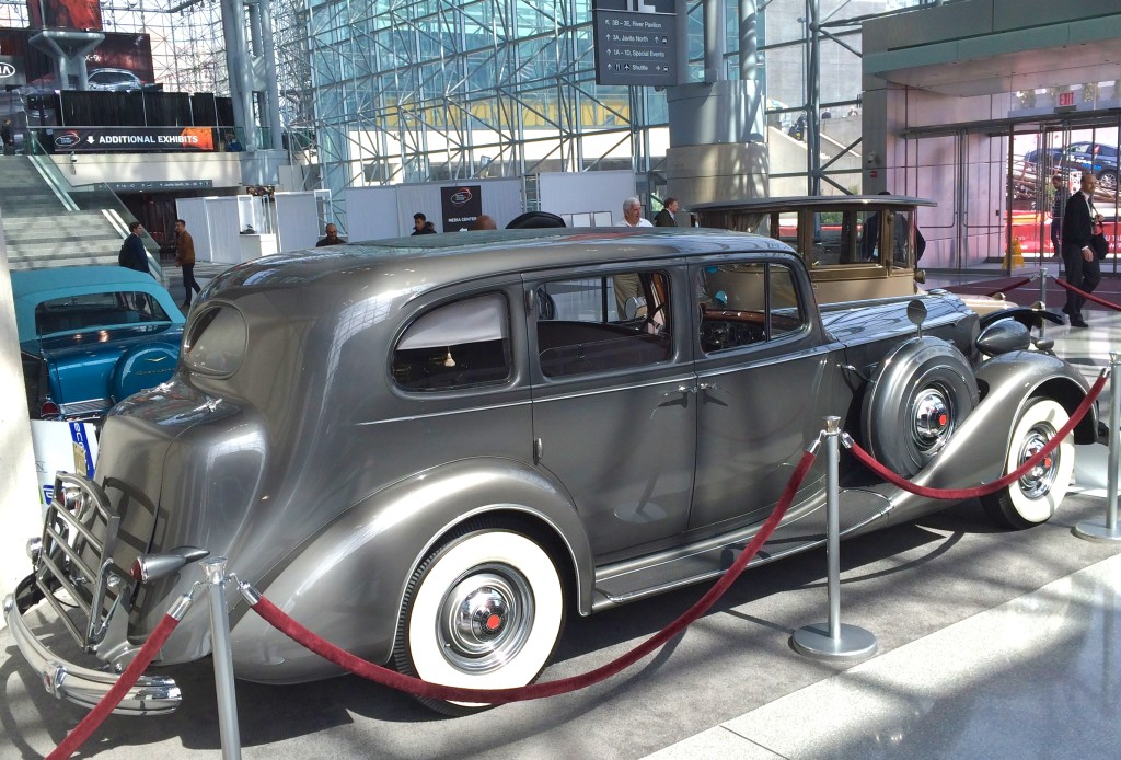 1937 packard, new york, auto show, 2016