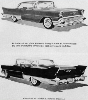 Original advertisement for the 1957 El Morocco.