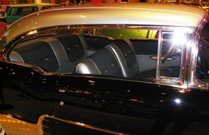 El Morocco hardtops received silver paint on the roofs to simulate the expensive roof covering found on 1957 Cadillac Eldorado Broughams.