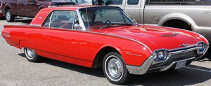 small 1961 Ford Thunderbird coupe
