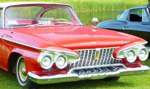 small 1961 Plymouth Fury