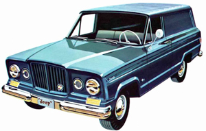 1963 Jeep Wagoneer Panel Delivery