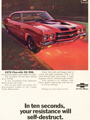 small 1970 Chevrolet Chevelle SS