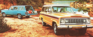 1974 Jeep Wagoneer base and Custom models