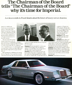 small 1981 Chrysler Imperial ad