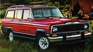 1981 Jeep Cherokee Chief 4-door
