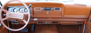 Steering wheels and dashboards were updated for 1982.