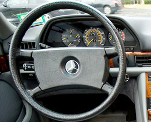 non-airbag steering wheel