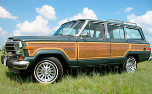 (1991 Grand Wagoneer shown)