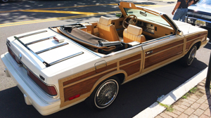 small 4c 1986 Chrysler LeBaron Town and Country convertible