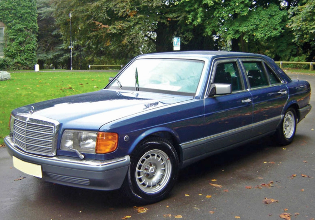 1986 1991 Mercedes S Class With 15 Inch Bundt Wheels