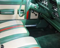 2b20c6a85cc4 Interior view of 1972-73 Gucci Edition AMC Hornet wagons. (Photo credit