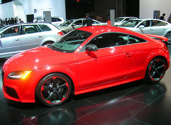 Audi Tt Rs At New York Auto Show