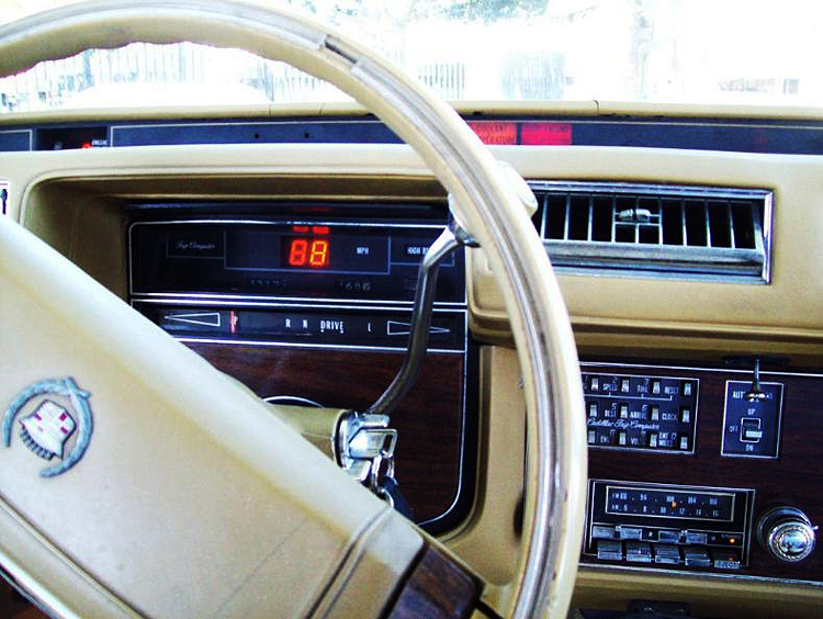 1978 Cadillac Seville With Optional Trip Computer Classic Cars