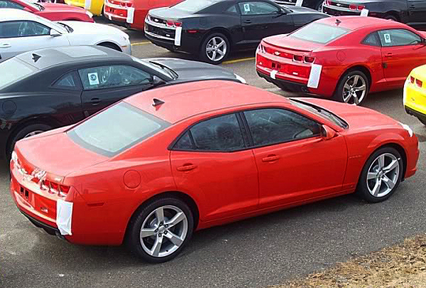 Chevrolet Camaro 4 Door