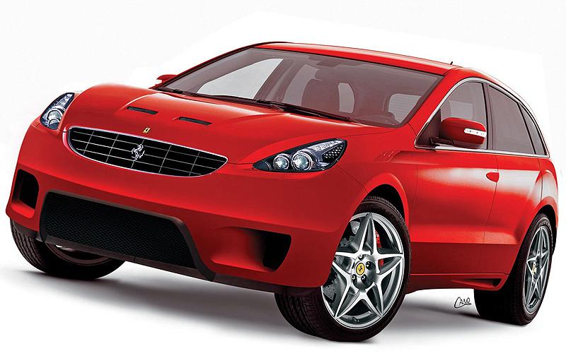 Elegant Ferrari 4 Door SUV Concept