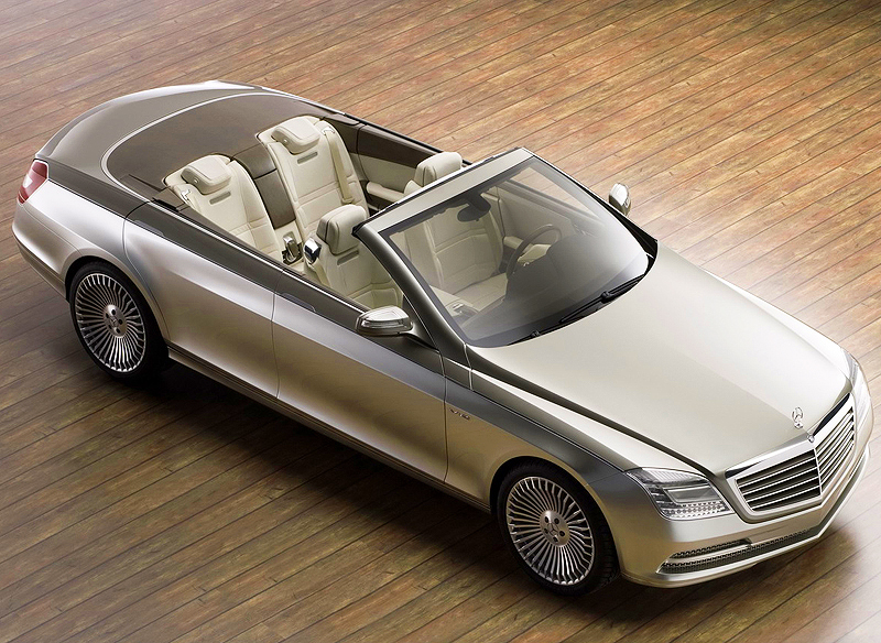 4 Door Convertible >> 2007 Mercedes Ocean Drive 4 Door Convertible Concept
