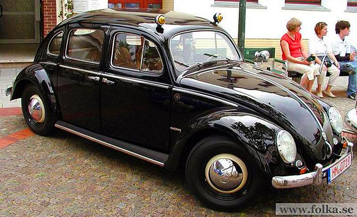 1952 Volkswagen Beetle 4 Door