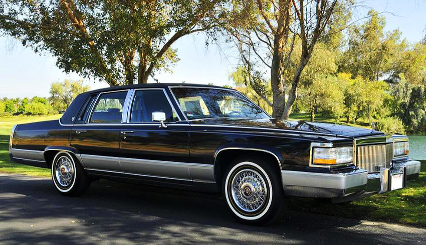 1991 Cadillac Brougham >> 1991 Cadillac Fleetwood Brougham Classic Cars Today Online