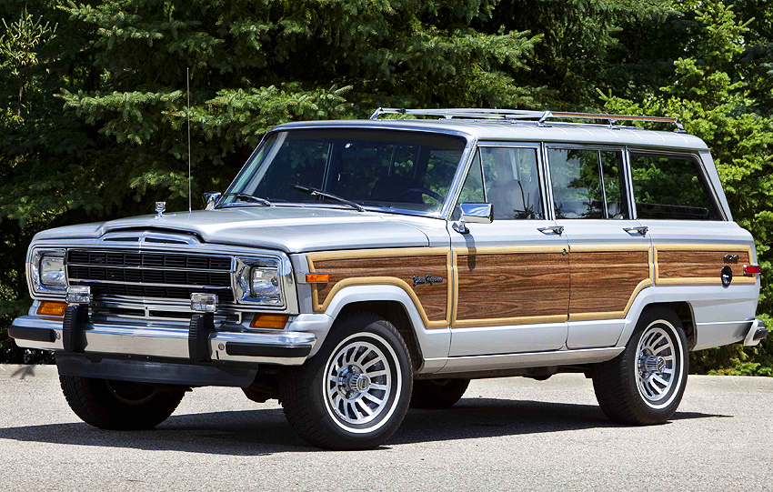 1991 Jeep Grand Wagoneer Classic Cars Today Online