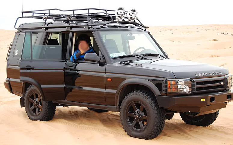 Safari Rack Installed On A 2004 Land Rover Discovery Classic Cars