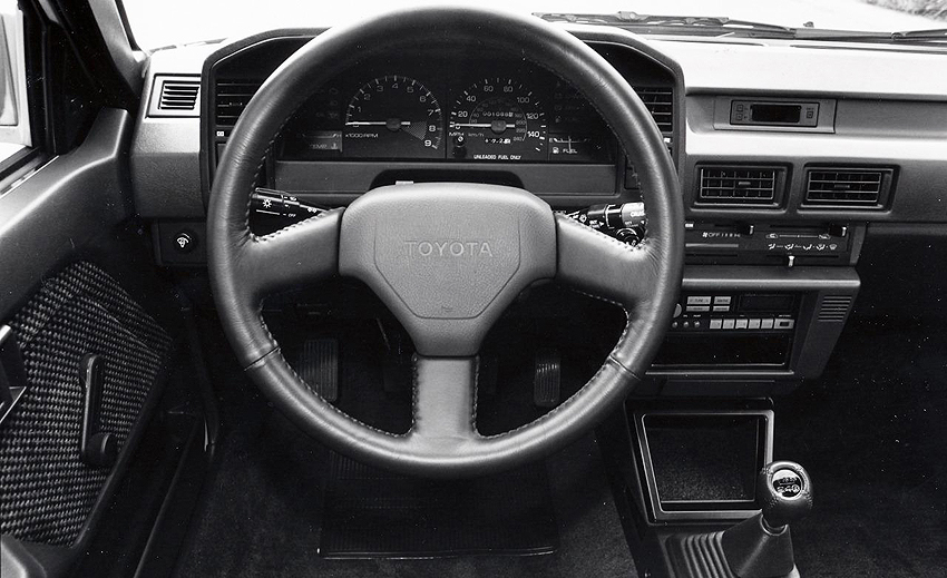 1987 Toyota Corolla Gt S Interior Classic Cars Today Online