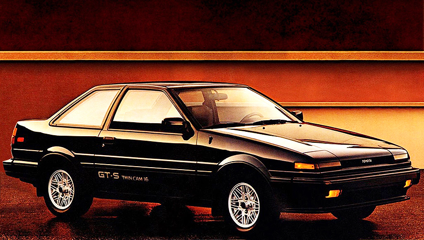 1987 Toyota Corolla GT S Coupe