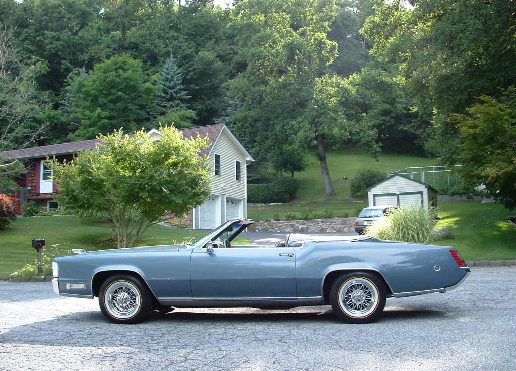 1968 Cadillac Eldorado Convertible Aftermarket