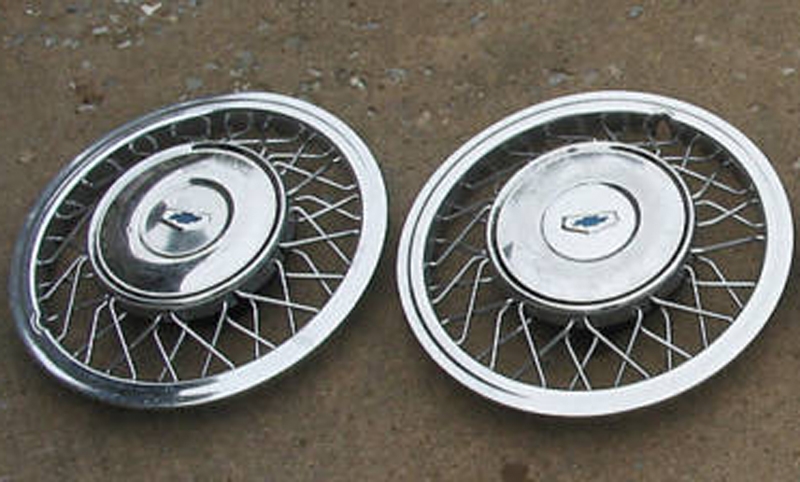 1955 Chevy Wire Hubcaps - Wiring Diagram on