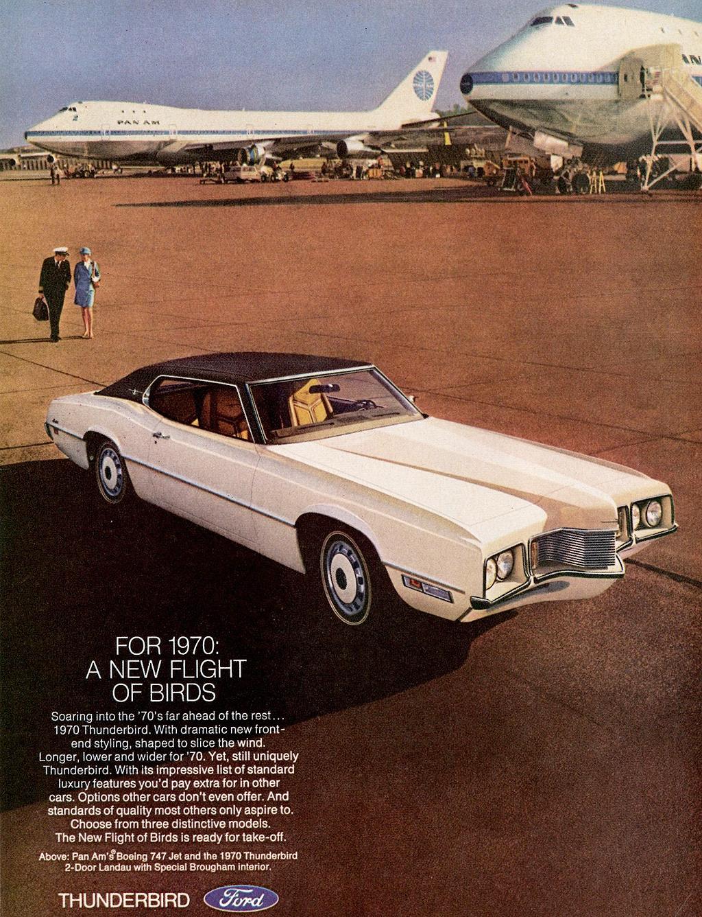 1970 ford thunderbird landau ad