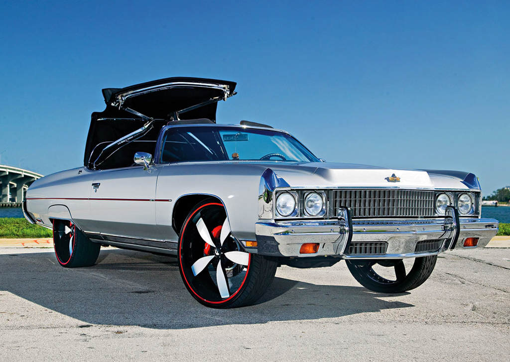 1973 Chevrolet Caprice donk | CLASSIC CARS TODAY ONLINE