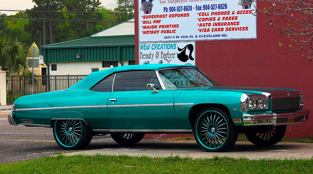 1975 Chevrolet Caprice convertible donk | CLASSIC CARS TODAY