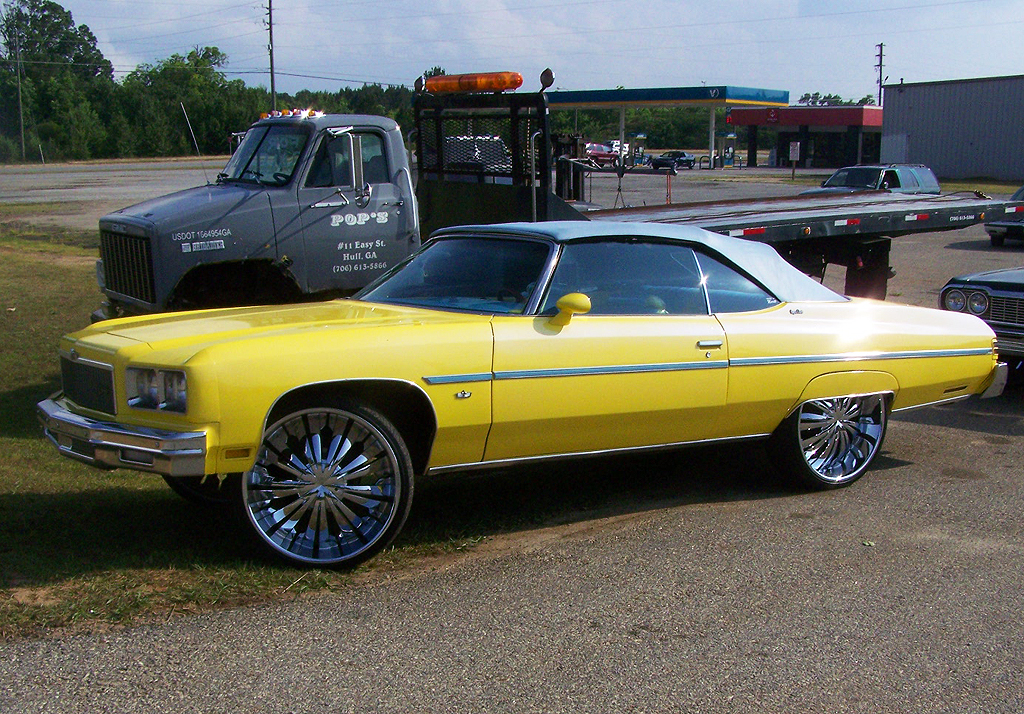 1975 Chevrolet Caprice Convertible Donk Classic Cars Today Online
