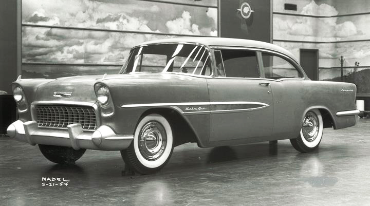 1957 Chevrolet Styling Design From 1954