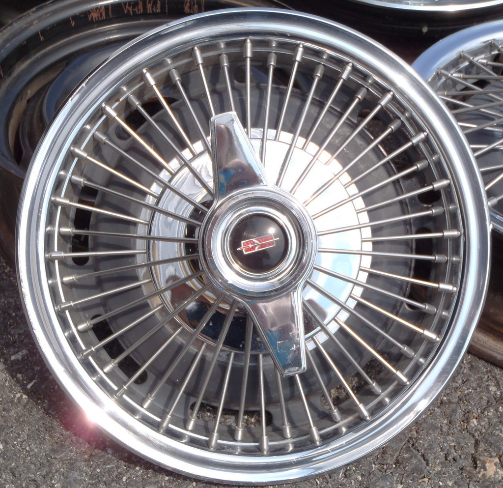 1964 oldsmobile cutlass wire wheel cover classic cars today online Wire  Hubcaps Ford Elite 1964 oldsmobile