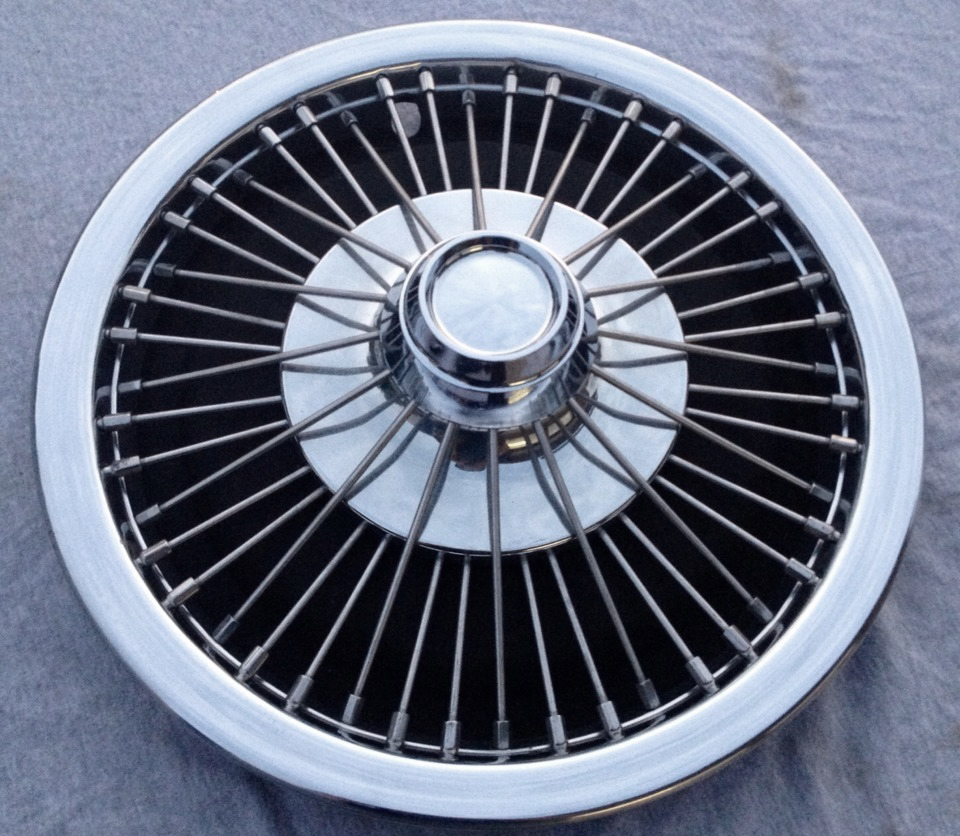 1966 Ford Galaxie Wire Wheel Cover Classic Cars Today Online