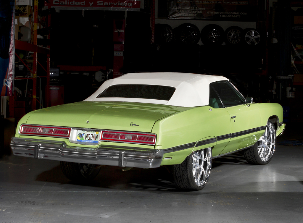 1974 Chevrolet Caprice convertible donk | CLASSIC CARS TODAY