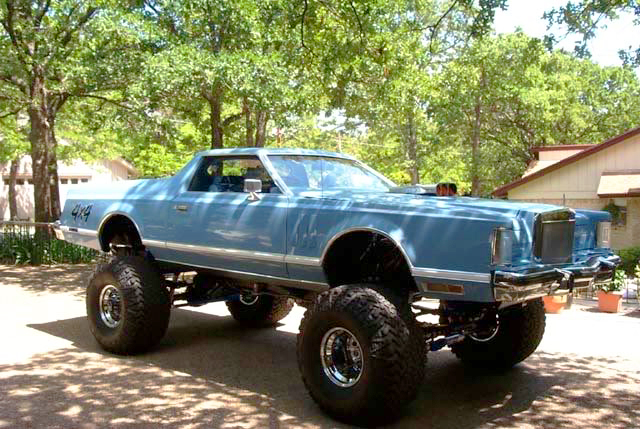 1979 Lincoln Mark V Monster Truck Classic Cars Today Online