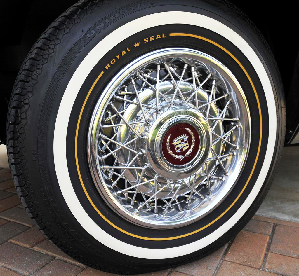 A look back at simulated wire wheel covers. Part 1: the 1950s ...