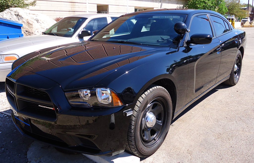 2012 Dodge Charger all-black police car | CLASSIC CARS ...