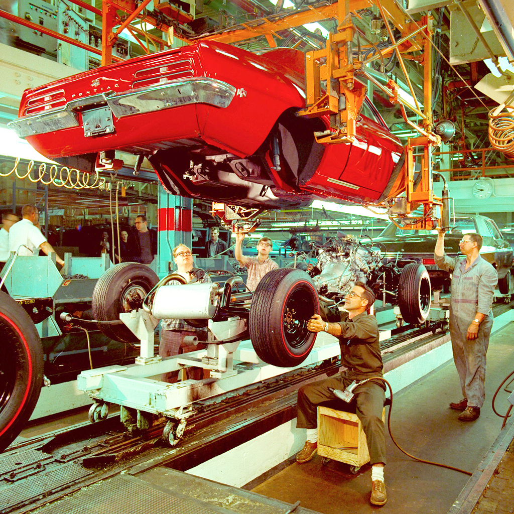 General Motors Assembly Line 1969 Classic Cars Today Online