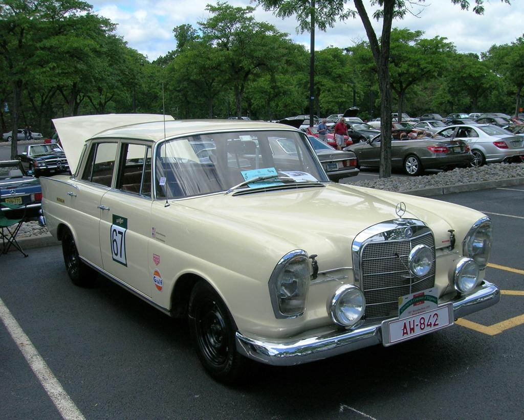 1966 Mercedes 230s Wiring