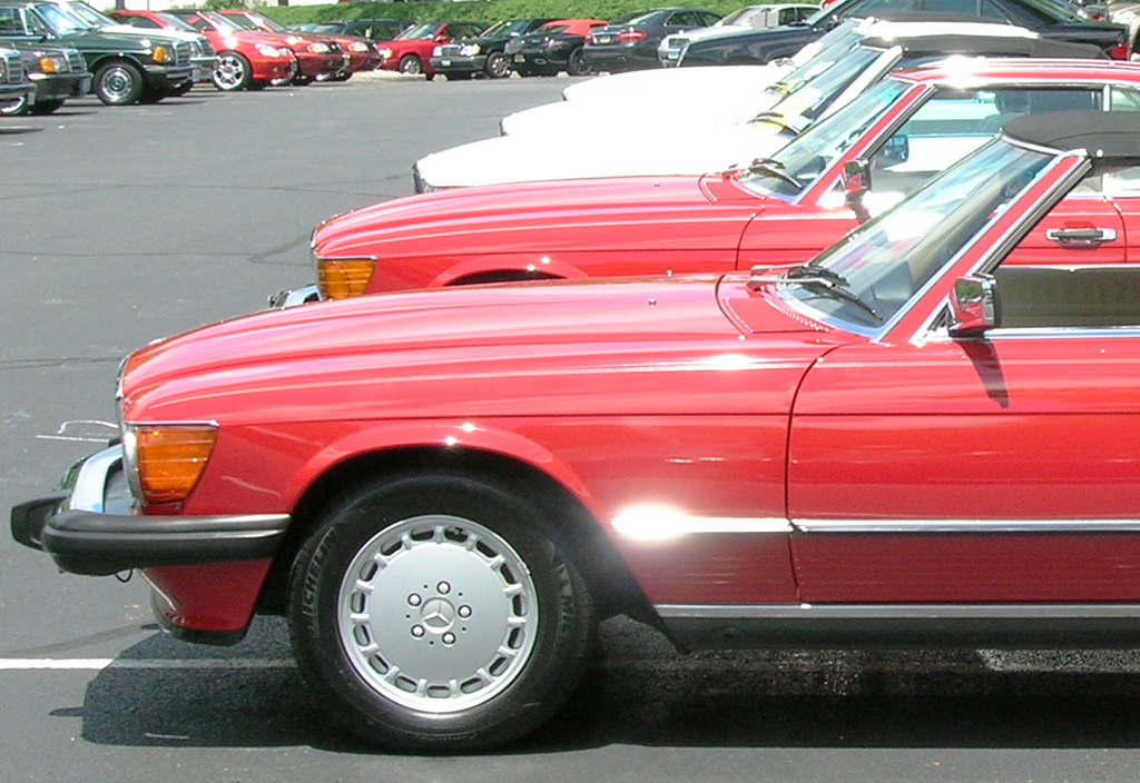 Pictures from mercedes benz june jamboree car show montvale nj june 8 2013 classic cars - Mercedes car show ...