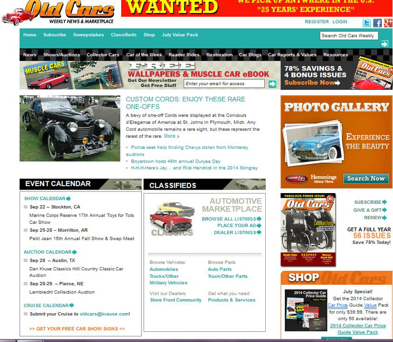 11 must-read web sites for the classic car fan | CLASSIC CARS TODAY ...
