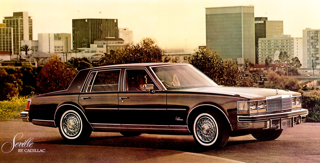 1977 Cadillac Seville With Wire Wheel Covers Classic Cars Today Online